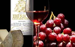 Ibérica Wine Background